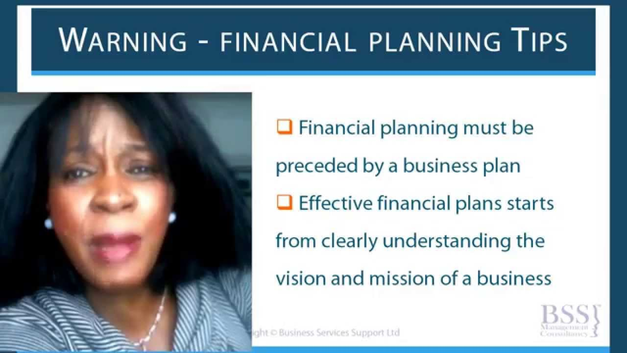 how to write financial plan for funding business plan course youtube