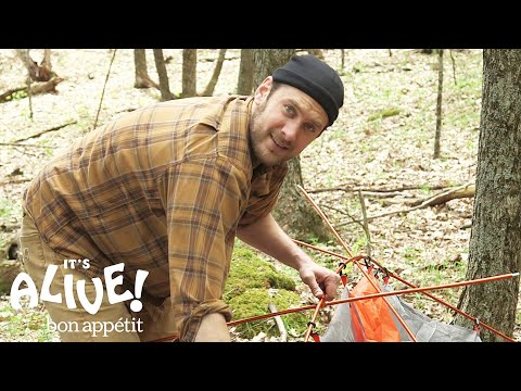 Brad Makes   It's Alive Camping Outtakes  Bon Appétit