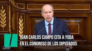 Juan Carlos Campo cita al maestro Yoda en el Congreso