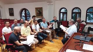 Сербы поют СВЯЩЕННУЮ ВОЙНУ... ДО СЛЕЗ!!!