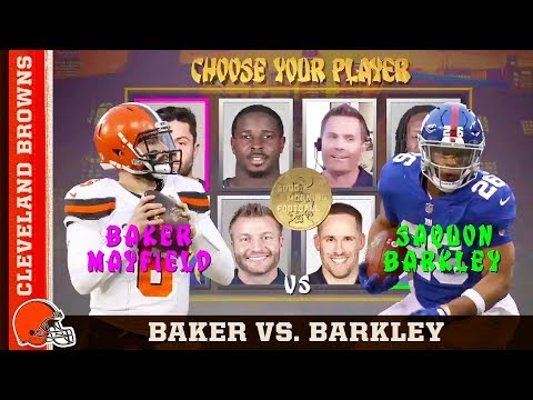 Baker or Barkley: Who Should Win Offensive Rookie of the Year? | Cleveland Browns