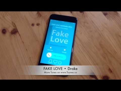 Fake Love Ringtone (Drake Tribute Marimba Remix Ringtone) • iPhone and Android Download Link