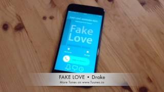 Fake love ringtone (drake tribute marimba remix ringtone) by cover group get it for your iphone or android (no pc, no jailbreak): itunes downl...