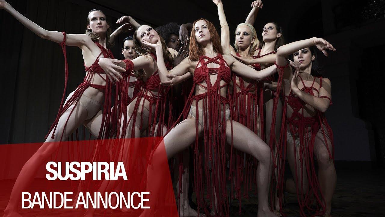 SUSPIRIA (Dakota Johnson, Tilda Swinton, Chloë Moretz) - Bande-annonce VOST (2018)