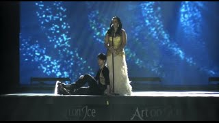 Art on Ice 2015 Stéphane Lambiel & Nelly Furtado  - Try