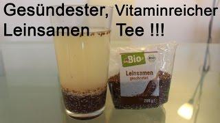 Bio Leinsamen Tee - Organic linseed tea