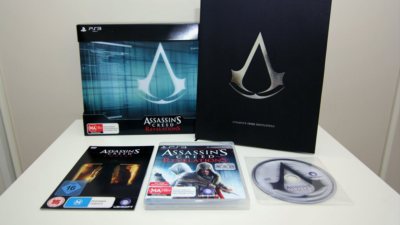 Assassins Creed Revelations Animus Edition Unboxing - YouTube