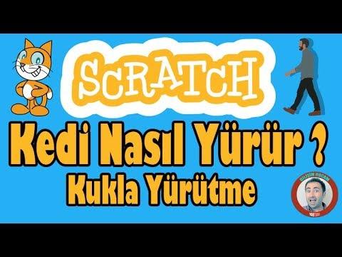 Scratch Dersleri #Ders2 Hareket   Scratchte Yürüyen Adam Nasıl Yapılır Ve Kostüm Değiştirme