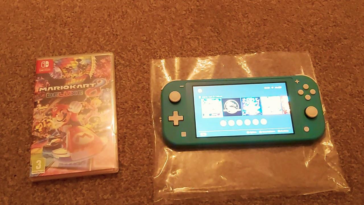 Mario Kart 8 Nintendo Switch Lite Game Play