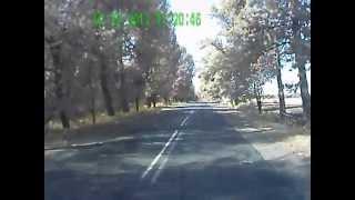 ГАИ  Украина Лысянка инспектор испугался регистратора(Увидел регистратор и забыл зачем остановил., 2012-10-08T06:06:18.000Z)