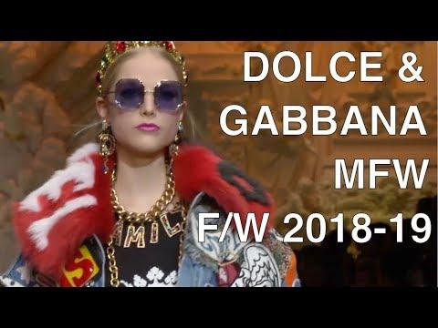 DOLCE & GABBANA | FALL WINTER 2018-19 | FULL FASHION SHOW