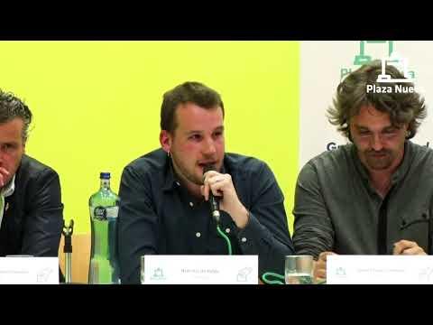 El debate de Plaza Nueva: Noel Iriz de Pablo (Geroa Bai) pide el voto a la ciudadanía de Tudela
