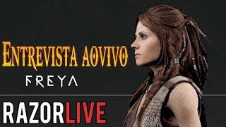 God of War 4  - Entrevista  ao vivo com a Freya(Beatriz Vila) - Perguntas, Teorias e Muito mais