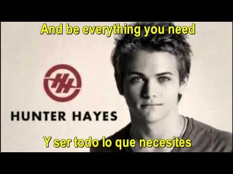 Hunter Hayes  - If You Told Me To - Spanish Lyrics