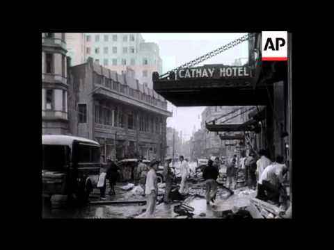 The Bombing of Shanghai.