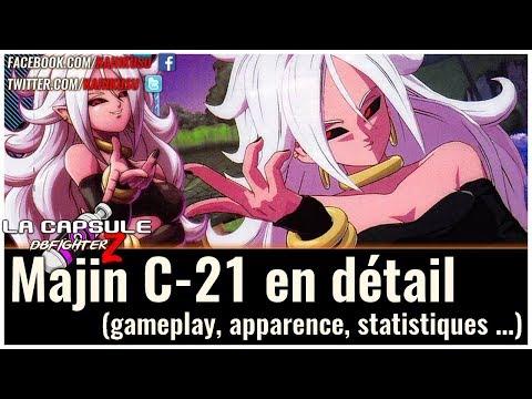 "La Capsule Dragon Ball FighterZ : ""Majin"" C-21 en détail (gameplay, apparence, statistiques...)"