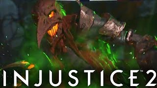 """Injustice 2: """"Scarecrow"""" Gameplay, Epic Gear & New Abilities Breakd..."""