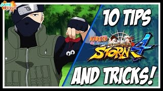Naruto Shippuden: Ultimate Ninja Storm 4 - 10 Tips And Tricks To Help You Online!(In this video of Naruto Shippuden: Ultimate Storm 4, I show you 10 different Tips and Tricks to help you play a little better online and on Ranked!, 2016-02-20T10:29:49.000Z)