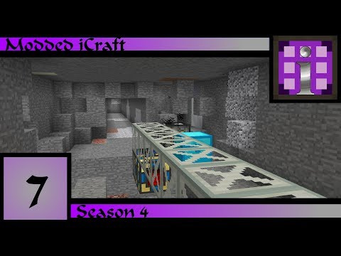 Modded iCraft Season 4: Ep7-Mechanical Methods Of Mining