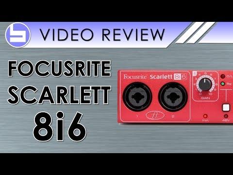 Focusrite Scarlett 8i6 Audio Interface Video Review