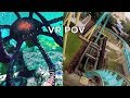 Kraken Unleashed VR POV Side-by-Side Comparison at SeaWorld Orlando