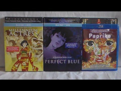 Unboxing Satoshi Kon's Anime Movie Collection