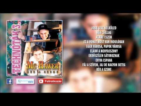 ✮ Mc Hawer ~ Technóták 3. - Mulatós techno (teljes album) letöltés
