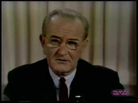 "President Lyndon B. Johnson ""I Will Not Run"" Address to the Nation"
