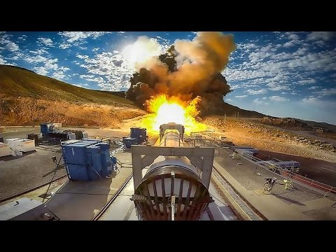 Big Test to Qualify Most Powerful Rocket Booster for Flight
