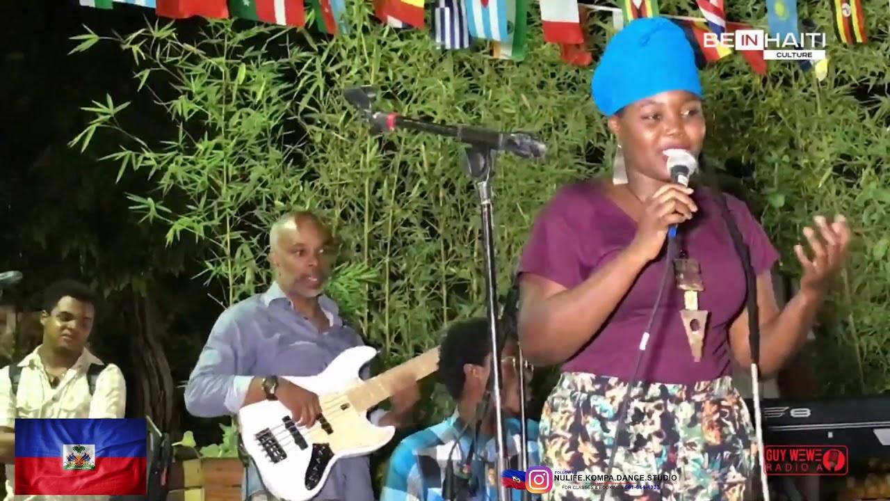 Dancing With Haitians At La Fete De >> Alexa Haiti Haitian Singer Fete De La Musique Youtube