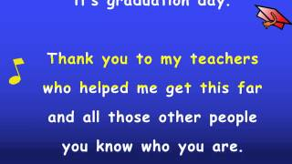 Kindergarten Graduation Song with Lyrics - Karaoke Sing Along