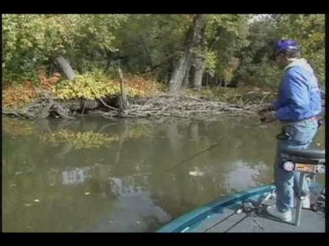 Early Fall Bass Fishing on the Mississippi River