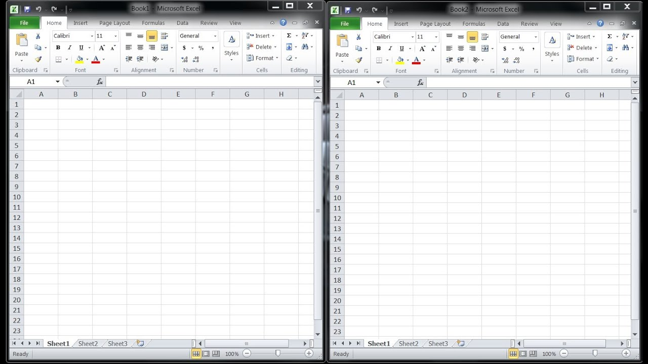 Open Multiple Excel Instances