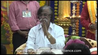 Sadguru Shree Aniruddha blessing Shraddhavans at Shree Harigurugram, 11th July 2019
