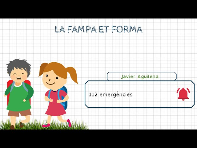 Formació FAMPA: Javier Aguilella (bomber al CPBC)