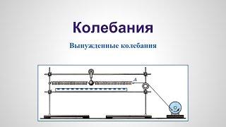 Колебания - Вынужденные механические колебания и Обобщения v1