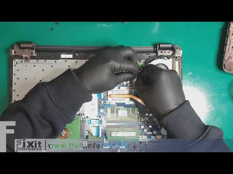 HP 15-BA032NL sostituzione ventola - Fan replacement
