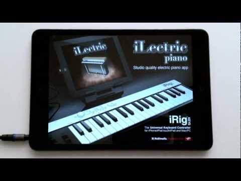 iLectric Piano - The First Studio-Quality Electric Piano App for iPad