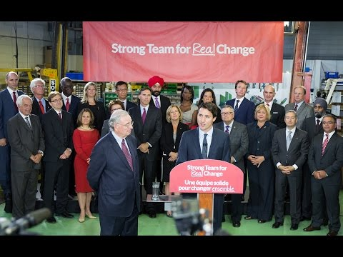 A Strong Team for Real Change • Une équipe solide pour changer ensemble