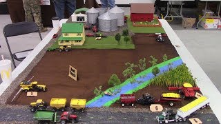 Informative 1/64 Scale Farm Safety Display for 4H