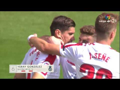 Resumen de Cultural Leonesa vs SD Huesca (3-2)