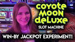 This Jackpot Needed to Hit! Coyote Moon Deluxe! Bonuses! Progressive Jackpot!!