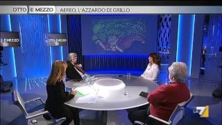 Otto e mezzo - Aereo, l'azzardo di Grillo (Puntata 27/03/2015) thumbnail