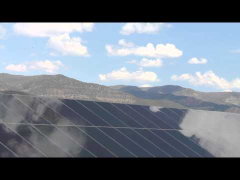 Time Lapse of Solar PV Array at Solar Energy International's (SEI) Paonia, Colorado Campus