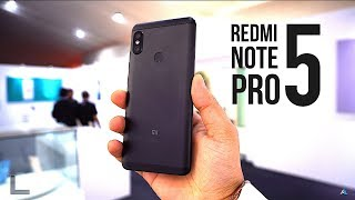 [HINDI] Xiaomi Redmi Note 5 pro hands on review [हिन्दी-4K]