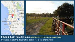 3-bed 2-bath Family Home for Sale in Zephyrhills, Florida on florida-magic.com