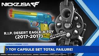 Toy Capsule Set TOTAL FAILURE! (Capsule Opening)   CROSSFIRE Indonesia 2.0