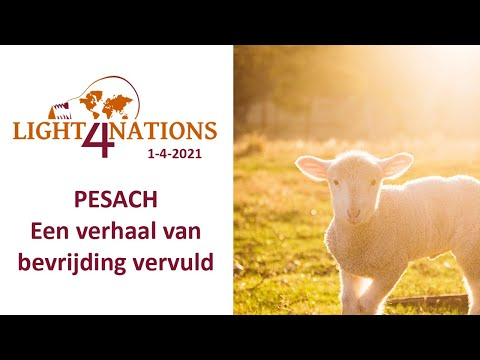 Pesach - een verhaal van bevrijding vervuld