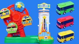 TAYO小巴士公交車軌道游樂園玩具