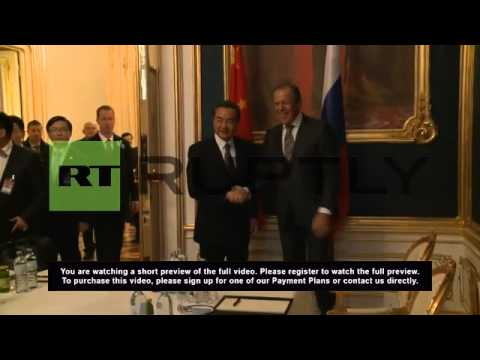 Austria: Lavrov and Wang Yi meet in Vienna on P5+1 sidelines